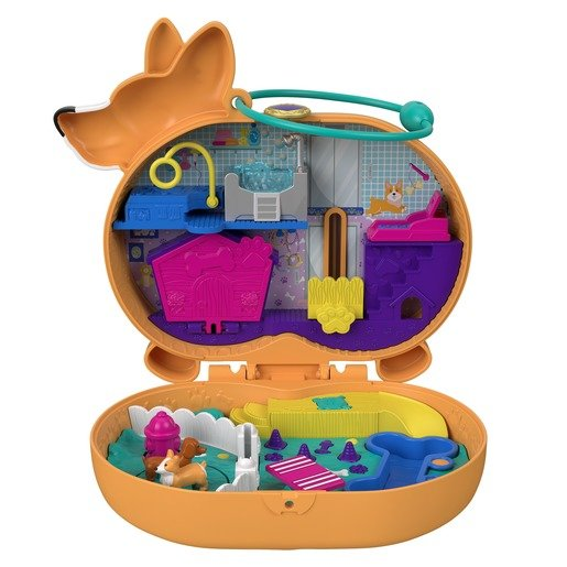 Picture of Polly Pocket Playset 'Corgi Cuddles' Compact