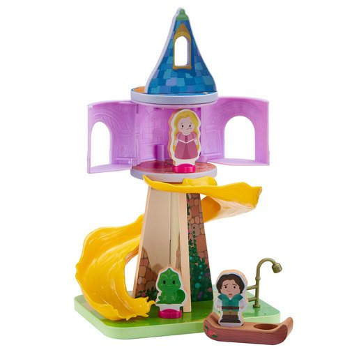 Picture of Disney Princess Wooden Rapunzell Playset