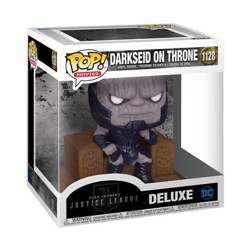 Picture of Funko Pop! Movies: Zack Snyder's Justice League - Darkseid On Throne (Deluxe)