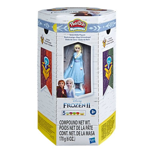 Picture of Play-Doh Mysteries Disney Frozen 2 Snow Globe Set