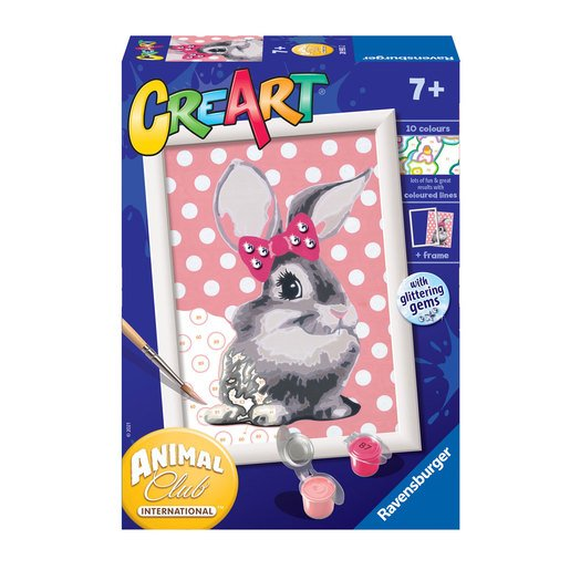 Picture of Ravensburger: Painting By Numbers - Cuddly Bunnies
