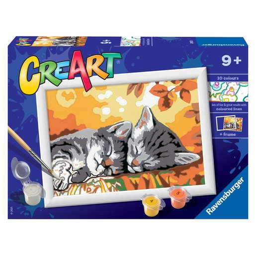 Picture of Ravensburger: Painting By Numbers - Autumn Kitten