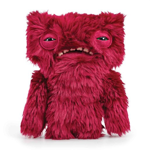 Picture of Fuggler 22cm Funny Ugly Monster - Wide Eyed Weirdo Red Furry