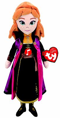 Picture of Ty - Frozen 2 Disney Princess Anna Plush Doll with Sound