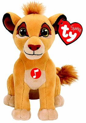 Picture of Ty - The Lion King Simba Beanie with Sound