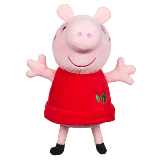 Picture of Peppa Pig - Red Eco Plush Dress Peppa